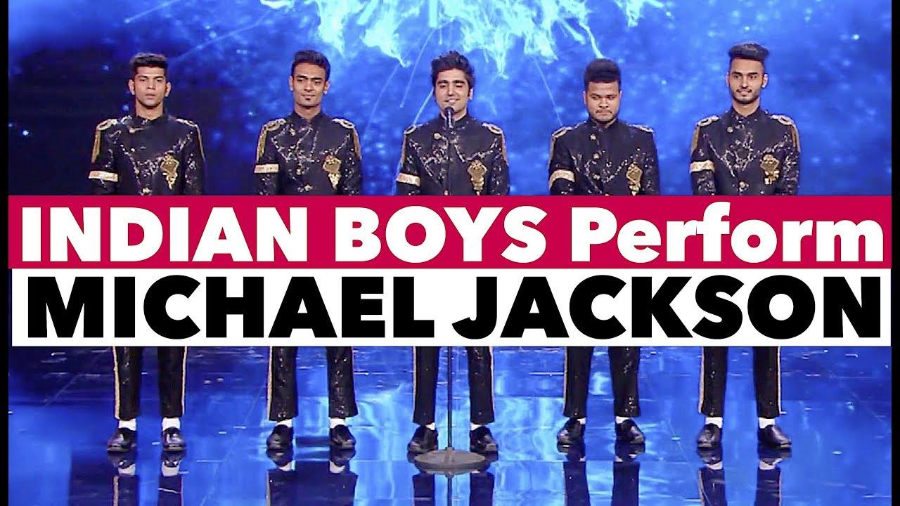 INDIAN Boys Dance Michael Jackson on TV Show | Bollywood in Europe | Shraey Khanna | Tu Si Que Vales